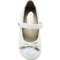 Scarpy Παιδικές Μπαλαρίνες 505 Λευκό Glitter