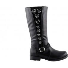 Scarpy Παιδικές Μπότες 50N Μαύρο