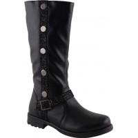 Scarpy Παιδικές Μπότες 51N Μαύρο