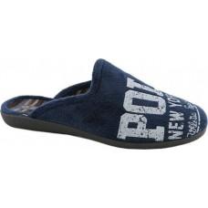 Zak Shoes Εφηβικές Παντόφλες NL1481 Μπλέ