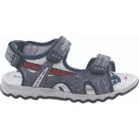 Zak Shoes Παιδικά Πέδιλα 20/071 Μπλέ