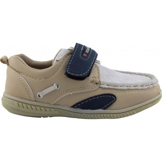 Zak Shoes Παιδικά Μοκασίνια 19/015 Μπέζ