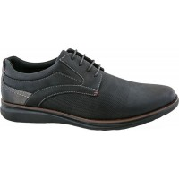 Zak Shoes Ανδρικά Casual 61/089 Μαύρο