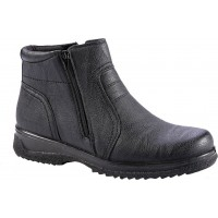 Zak Shoes Ανδρικά Μποτάκια 79/009 Μαύρο