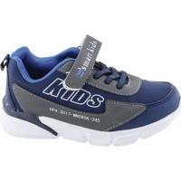 Zak Shoes Παιδικά Αθλητικά 19/056 Μπλέ