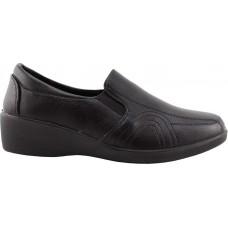 Zak Shoes Γυναικεία Casual 76/063 Μαύρο