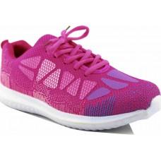 Zak Shoes Γυναικεία Αθλητικά TDUBS18 Φούξια