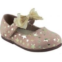 Zak Shoes Παιδικές Μπαλαρίνες 12/036 Nude Suede