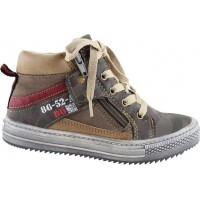 Zak Shoes Παιδικά Μποτάκια 55/060 Πούρο