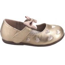 Zak Shoes Παιδικές Μπαλαρίνες 12/065 Χαλκός