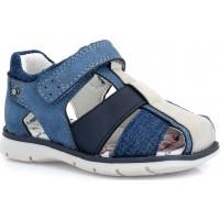 Zak Shoes Παιδικά Πέδιλα 23/050 Μπλέ
