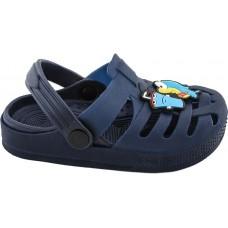 Zak Shoes Παιδικά Σαμπώ 08/089 Μπλέ