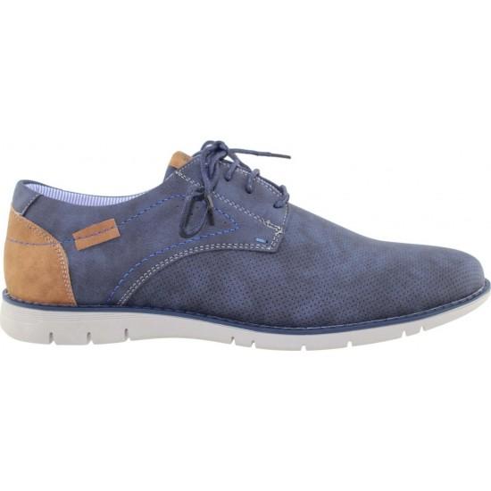Zak Shoes Ανδρικά Casual SDTCLONT48-01 Μπλέ