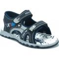 Zak Shoes Παιδικά Πέδιλα 20/080 Μπλέ