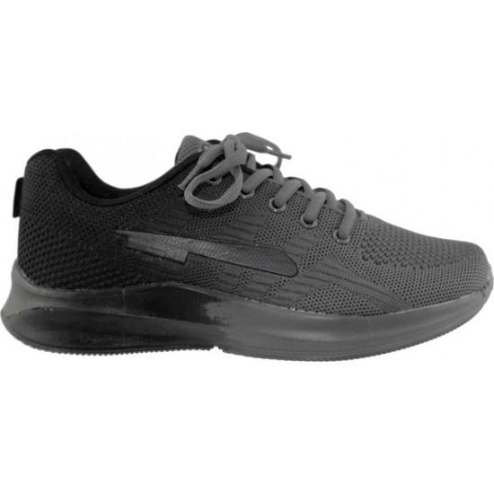 Zak Shoes Unisex Αθλητικά  SD14005 Μαύρο Γκρί