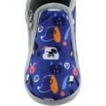 Zak Shoes Παιδικές Παντόφλες 42/104 Μπλέ