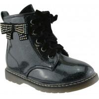 Zak Shoes Παιδικά Μποτάκια 12/130 Μαύρο