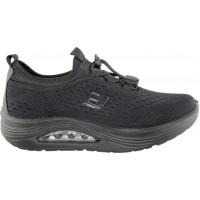 Zak Shoes Γυναικεία Sneakers BL206EV Μαύρο