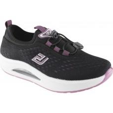 Zak Shoes Γυναικεία Sneakers BL206EV Μαύρο Μώβ
