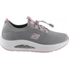 Zak Shoes Γυναικεία Sneakers BL206EV Γκρί Ρόζ
