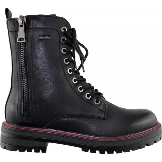 Zak Shoes Γυναικεία Μποτάκια 57/076 Μαύρο