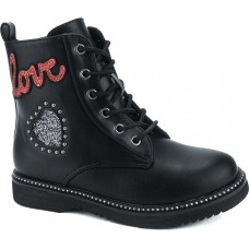 Zak Shoes Παιδικά Μποτάκια 12/142 Μαύρο