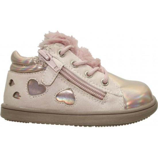 Zak Shoes Παιδικά Μποτάκια 55/014 Nude Χαλκός