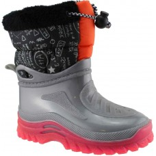 Zak Shoes Παιδικές Γαλότσες Apres Ski PRLUX1696 Γκρί