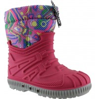 Zak Shoes Παιδικές Γαλότσες Apres Ski PR-TOP629 Φούξια