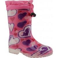Zak shoes Παιδικές Γαλότσες 98/054 Ρόζ
