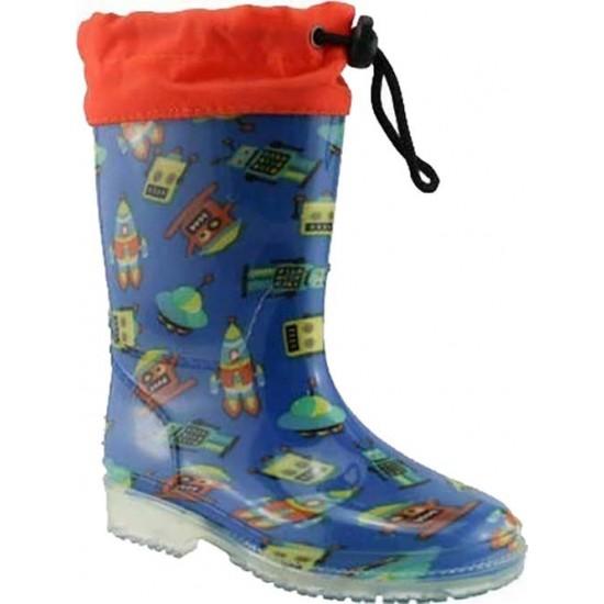 Zak shoes Παιδικές Γαλότσες 98/056 Μπλέ