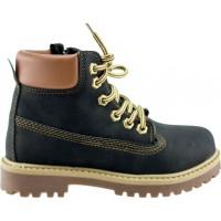 Zak Shoes Παιδικά Μποτάκια LG-P960 Μαύρο