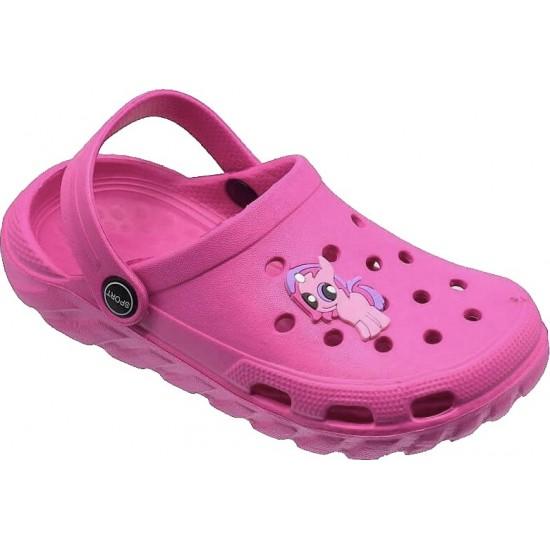Zak Shoes Παιδικά Σαμπώ 08/103 Φούξια