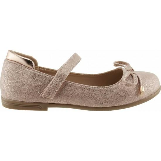 Zak Shoes Παιδικές Μπαλαρίνες 12/098 Χαλκός