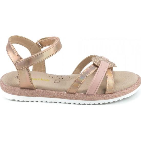 Zak Shoes Παιδικά Πέδιλα 12/152 Χαλκός
