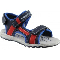 Zak Shoes Παιδικά Πέδιλα 25/053 Μπλέ