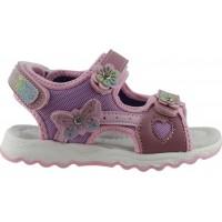 Zak Shoes Παιδικά Πέδιλα 12/170 Ρόζ