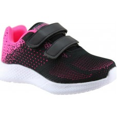 Zak Shoes Παιδικά Αθλητικά 29/022 Μαύρο Φούξια