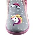 Zak Shoes Παιδικές Παντόφλες 42/116 Γκρί Ρόζ