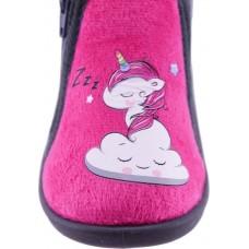 Zak Shoes Παιδικές Παντόφλες 42/121 Φούξια Γκρί