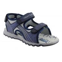 Zak Shoes Παιδικά Πέδιλα 20/079 Μπλέ