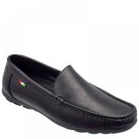Zak Shoes Ανδρικά Μοκασίνια 72/086 Μαύρο