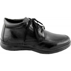 Zen Air Ανδρικά Μποτάκια Δέρμα 176978 Μαύρο